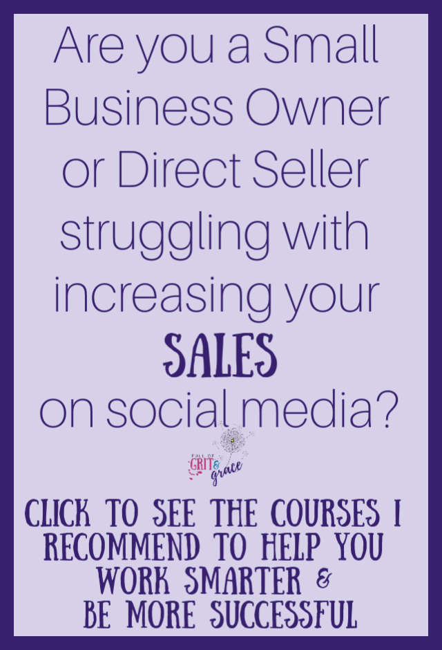 Click to see the courses I recommend to help you work smarter & be more successful