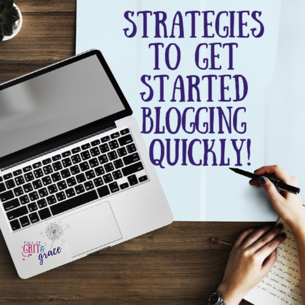strategies to get started blogging today quickly and at a low cost.