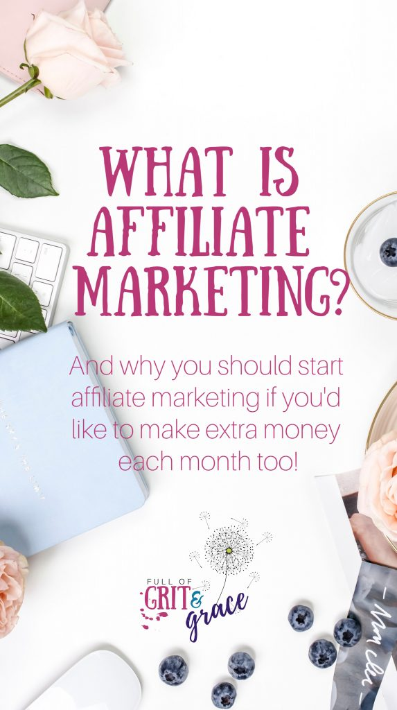 Affiliate marketing  is an excellent way to make extra money by sharing products that you love and would recommend anyway! Click to learn more