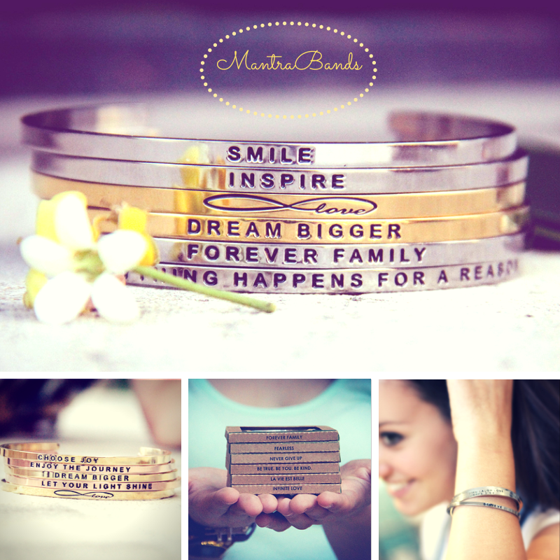 MantraBand Bracelets, Rings, and Necklaces make a beautiful gift or inspiring reminder for yourself!