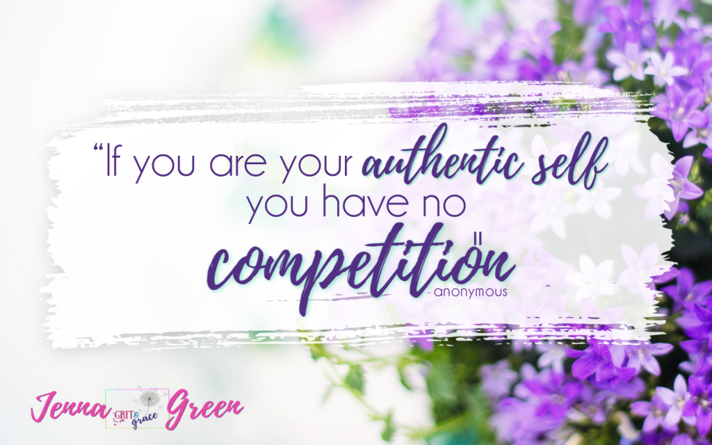 If you are your authentic self you have no competition! Click to learn more about affiliate marketing.