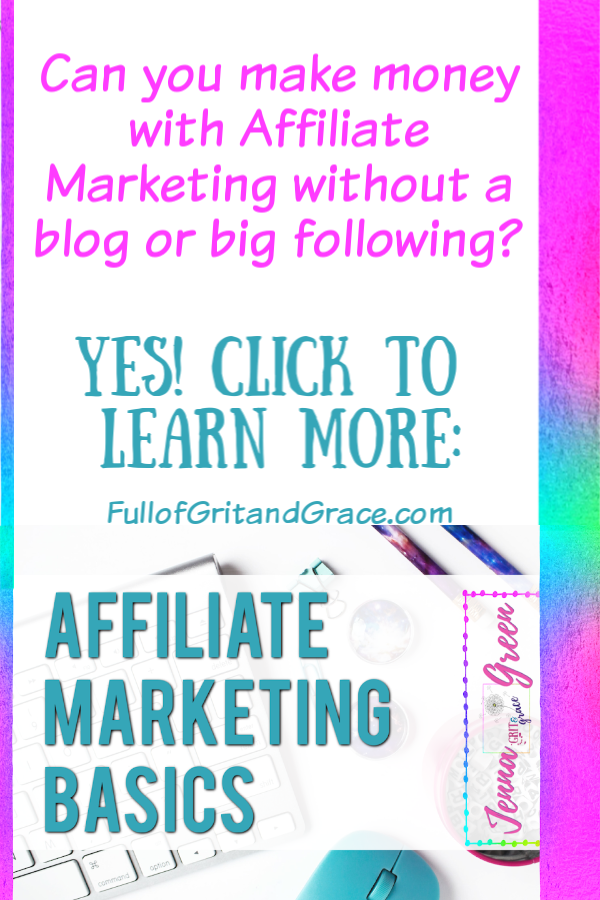 can you make money with affiliate marketing without a blog or big following? Yes! Click to learn more!