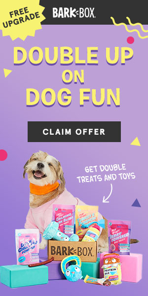 Free upgrade when you grab a BarkBox for your spoiled dog!