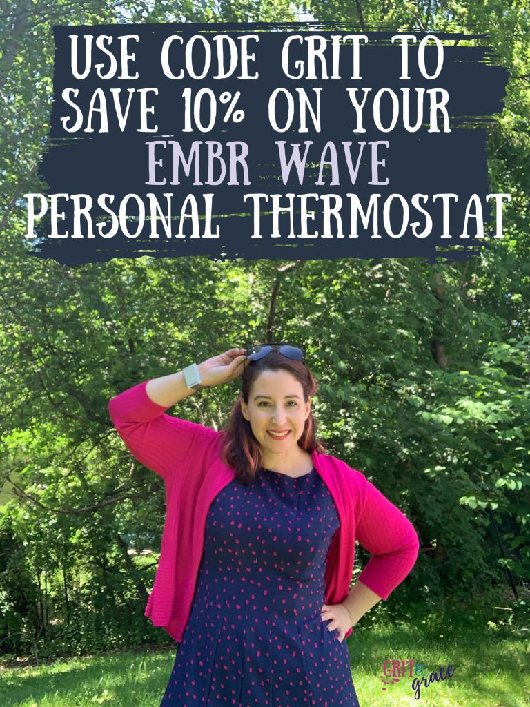 Your Personal Thermostat. Embr Wave helps you feel colder or warmer at the press of a button. Own your temperature. Use code GRIT to save 10% on your purchase.