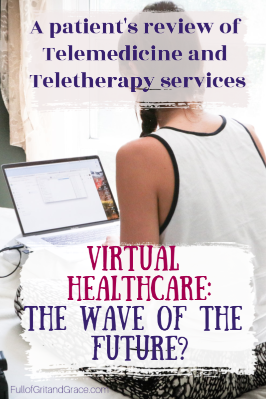 Virtual doctor visits for telemedicine and mental health: a patient's review