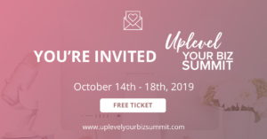 Uplevel your Business online summit