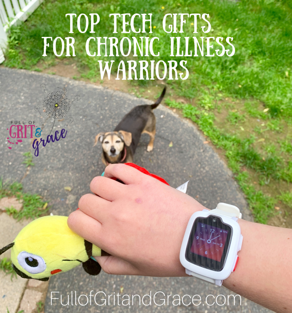 top tech gifts for chronic illness warriors this holiday, including a medical alert watch that doesn't look like it was made for your grandma!