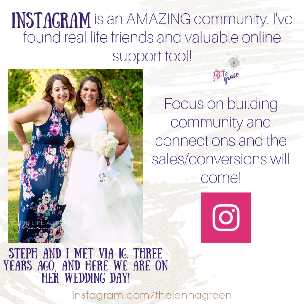 Instagram is an amazing way to build community and convert followers into customers. Click to learn how.