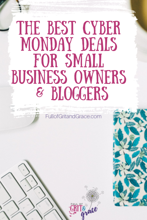 Shop the best cyber monday deals for small business owners and bloggers!