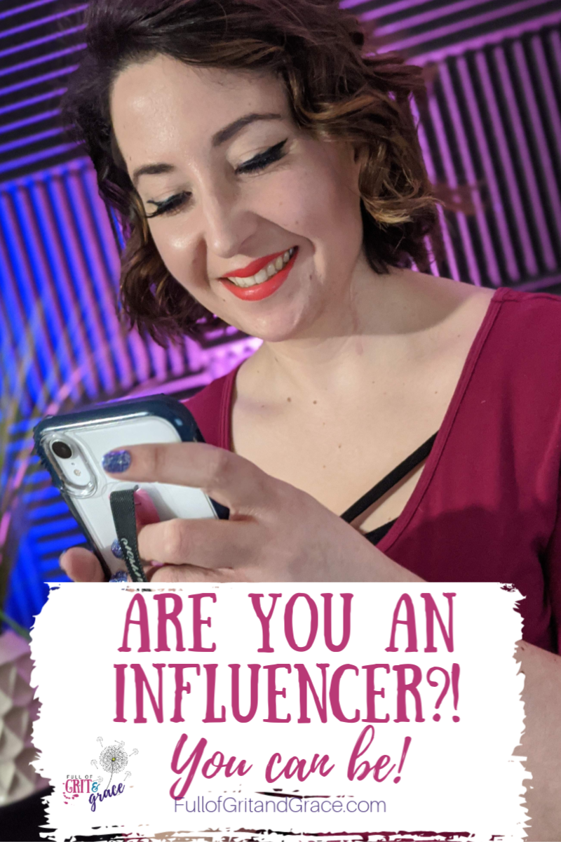 Are you an influencer? You can be! Click to learn more
