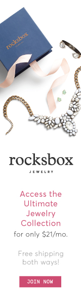 Get a free Rocksbox with 3 gorgeous pieces of designer jewelry with code xoxothejennagreen