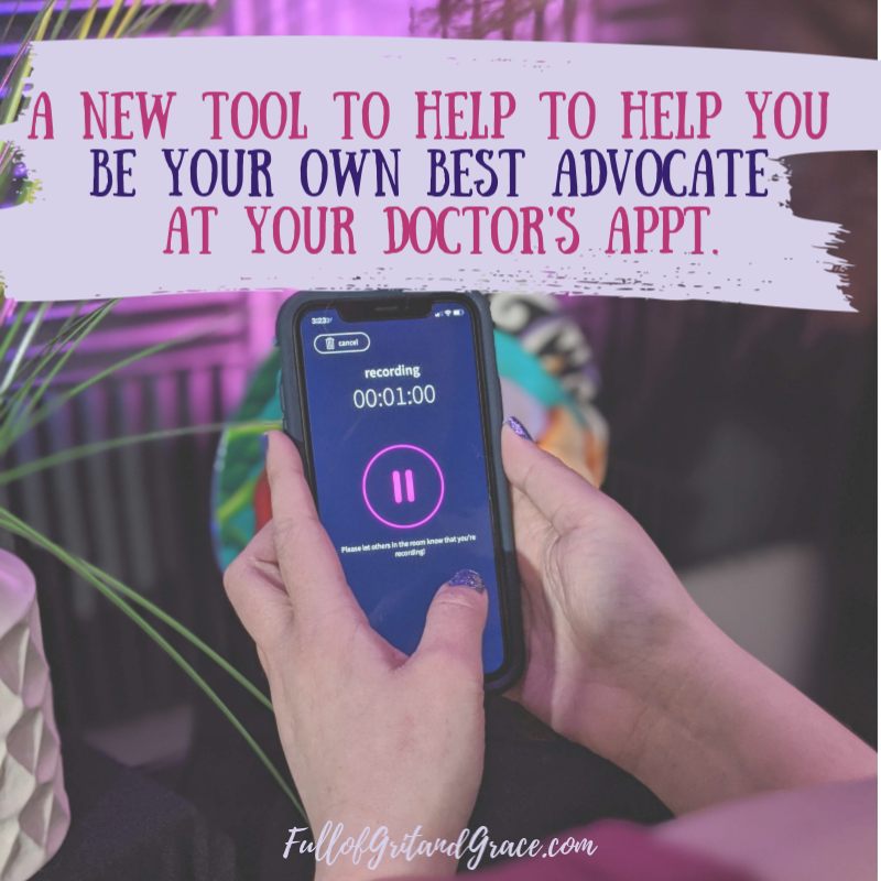 A new tool to help you be your own best advocate at your next doctor's appointment. Click to read my full review.