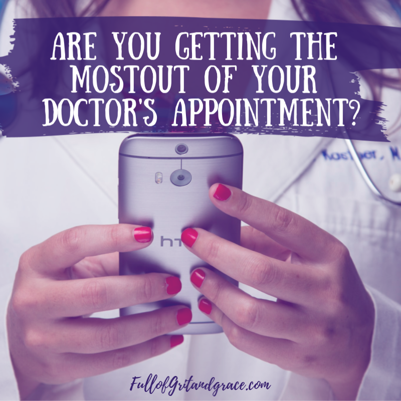 Are you getting the most out of your doctor's appointment? You're likely missing something! Click to find out how you can fix this for free.