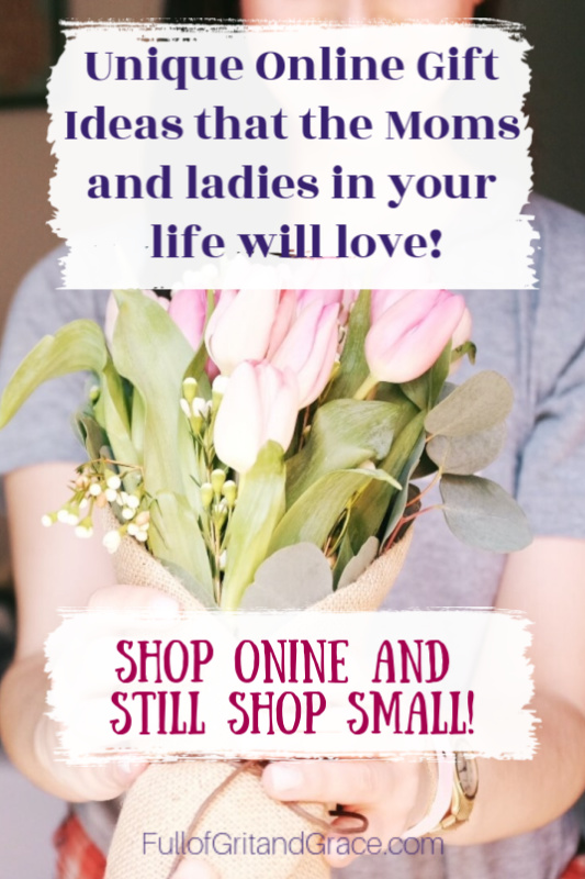 Unique gift ideas that you can buy online for all of the ladies in your life!